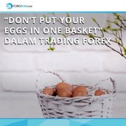 """""""Don't Put YourEggs in One Basket"""" dalam Trading Forex"""